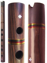 Quena Moradillo Wood (Ebony Mouthpiece) - Ach�