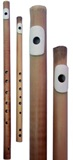 Bamboo Flutes with bone mouthpiece