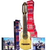Andean Begining Set - Professional charango & quena + soft cases + methods