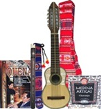 Paya Set - Professional charango & quena + soft cases + accessories