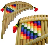 Pan Flute Wiphala - 21 Pipes