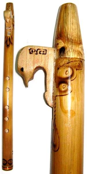 Cherokee Flute - Decorative|Flute|Bolivia