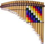 Professional pan flute tuned in Si - Adjustable tuning