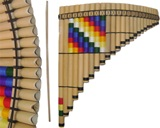 Adjustable Tuning Pan Flute - 24 Tubes