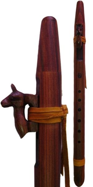Cherokee Flute - Alpaca Totem|Flute|Bolivia
