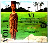 "VI International Festival ""Misiones de Chiquitos"" VOL. 1 (CD + DVD)"