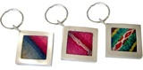 Square Awayo Key Ring