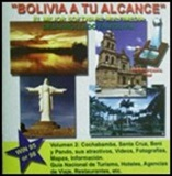 CD ROM of Bolivia Vol. 2 - Cochabamba, Santa Cruz, Beni and Pando