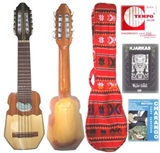 Set for Beginners: Charango Kjarkas + Cover Case + Strings Set + Learning Method + Kjarkas DVD
