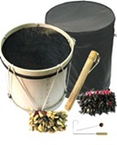 Andean Percussion Instruments Set