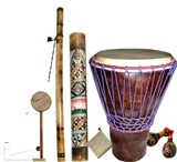 Bolivian Percussion Instruments Set