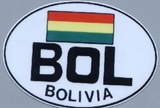 Sticker Bolivia