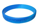 """Blooming"" Soccer Team Wristband"