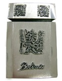Cigarette case  Bolivia  - pewter