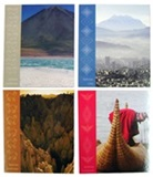 4 Postcard set &#34Bolivian Landscapes&#34