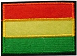 &#34Bolivian flag&#34 Patch