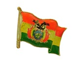 Bolivian flag pin