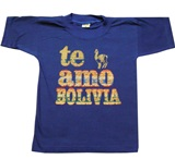 T-shirt  Te amo Bolivia  - for kids