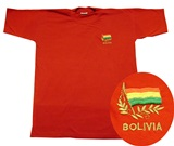 T-shirt  Bolivian flag