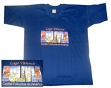 ''Bolivia''  Blue T-shirt