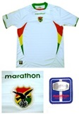Alternative Bolivian National Team Jersey (Short sleeve)  - 12 a 14 years