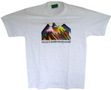 White T-shirt &#34MALLKU ILLIMANI&#34