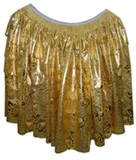 Cholita Skirt - Gold Color