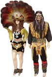 Toba Costume - Woman and Man