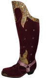 Burgundy Caporal Boots