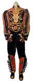 Caporal Costume for Man - Orange