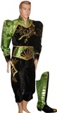 Caporal Costume for Man - Green