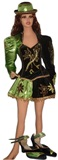 Caporal Costume for Woman - Green