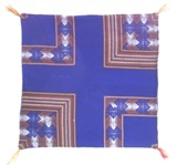 Blue Awayo Cushion Cover
