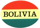 Bolivian Flag Sticker