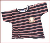 Striped  t-shirt - Size L